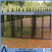 Heavy duty or galvanized comfortable outdoor dog kennel