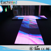 New Design P10 Full Color Waterproof Dance Floor Rental LED Stage Display