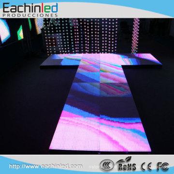 Neues Design P10 farbenreiche wasserdichte Tanzfläche Vermietung LED-Bühnenbild
