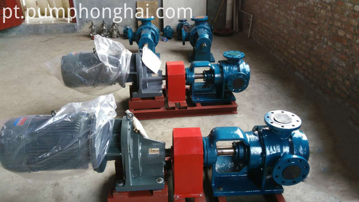 high viscosity electric pump