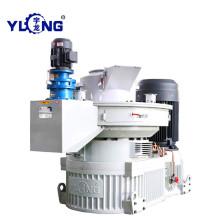 Máquina de hierba para la fabricación de pellets.
