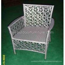 Outdoor Steel PE Rattan Mesh Chair