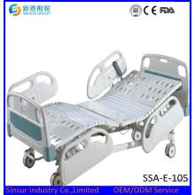 Mejor calidad eléctrica de cinco funciones ajustable precio de la cama médica