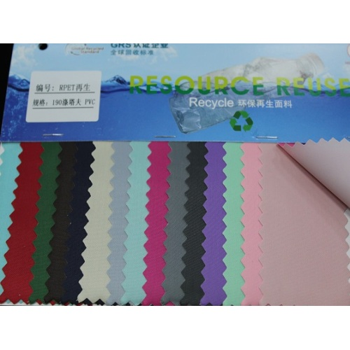 Vente directe d'usine 190 Taffeta PVC Oxford Fabric