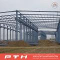 Diseño personalizado Almacén de estructura de acero de gran tamaño con fácil instalación