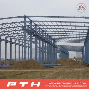 Подгонянные конструкции большой пяди стальной структуры Пакгауза с легкой установкой
