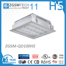 100W LED Tankstelle-Überdachungs-Licht 120lm / W Philips 3030 Chip