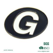 Qualitäts-Förderungs-Metallausweis mit kundenspezifischem Logo