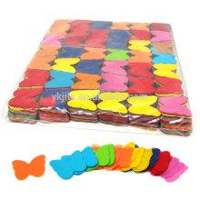 Sachet en vrac de confettis de papier de soie de Rainbow coloré fait à partir du papier réutilisé pour des engagements d'anniversaires
