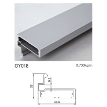 Aluminium Profile for Kitchen Cabinet with Pull Handle