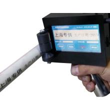 Máquina de codificador de inyección de tinta de mano de bolsas de plástico