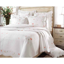 Rural Style Simple Style Comfortable Floral Cotton Printing Bedding Quilt (WSPQ-2016010)