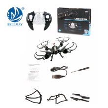 2.4GHz 4Channel RC Drone Quad-copter Headless and One-key Return Helicopter