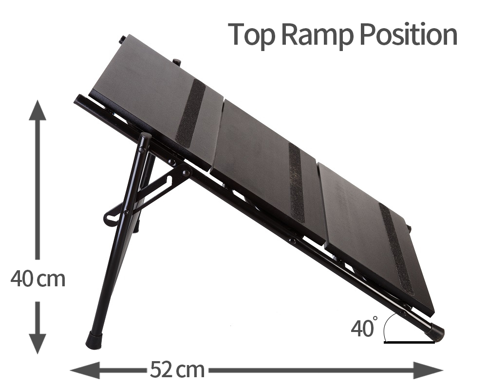 top ramp position