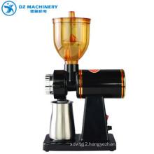 Portable manual electric coffee grinder hot new package black OEM custom steel box ceramic stainless steel logo