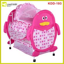 NEW Baby Bassinet Cute Penguin Design / Rocking Baby Cradle