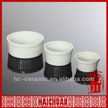 Снежинка керамическая рамэкина, керамическая чаша Рамекина