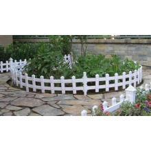 Забор красоты лужайки