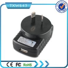 Adaptador de corriente USB Australia SAA