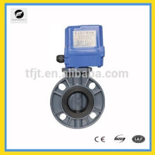 """CTF-series UPVC plastic solenoid operated ball valve 2"""" for for water threatmentproject CE abd ISO approved"""