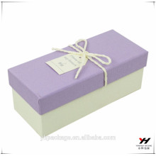 Whosale custom logo printed fashion design packaging paper gift box