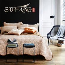 Sábana acolchada y funda de almohada 2 piezas funda de cama elegante y clásica
