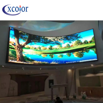 P4 Video Wall Screen gebogen led-paneel