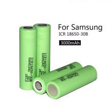 Icr18650-30b para 18650 3.7V 3000mAh Li-ion recarregável 18650 bateria celular