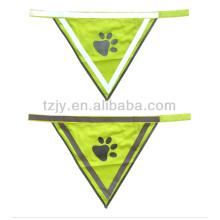 chaleco de seguridad reflectante de transferencia de calor de alta visibilidad para mascotas