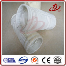 Antistatic carbon fiber stainless steel mix polyester filter bag