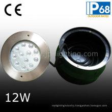 Stainless Steel 12W Underwater Swimming Pool Light IP68 (JP948121)