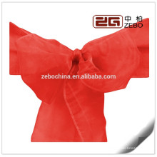 100% Polyester Colorful Customized Size Available Cheap Organza Chair Sashes
