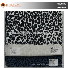 fashion leopard printed cotton velvet fabric
