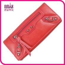 Women, S Designer Clutch Plain PU Leather Two Fold Long Wallet Hand Evening Purse