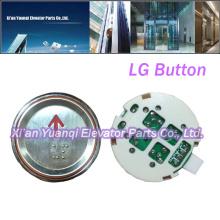 Boutons LG Ascenseur Pièces détachées Braille Acier inoxydable Forme ronde Bouton Appel Push