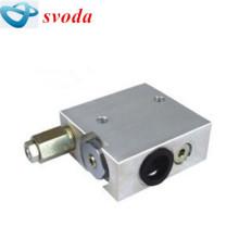 Válvula de rebote rígida de la caja de cambios de Terex tr50, retroceso de la válvula sobre 15014890