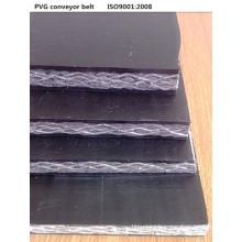 PVG sólido tejido transportadora