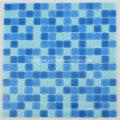 Mosaic Tiles Blue Glass Mosaic pour piscine Matériaux de construction