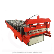 2018 New type steel profile cold roofing roll forming machine prices