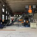 Vertical High Pressure Aluminum Shavings Briquette Machinery