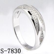 Joyería de moda 925 joyas de plata con anillo de mujeres Zirconia (S-7830)