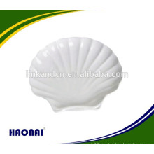Hot selling hotel beautiful ceramic plate with decal option