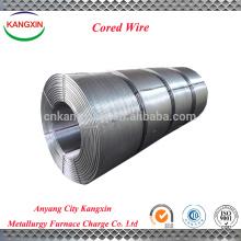 Good Inoculant SiCa Cored Wire para la fabricación de acero