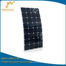 El panel solar flexible del OEM cuesta 120W --- venta directa de fábrica