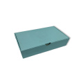Mini blue paper gift box