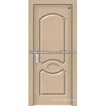 PVC-Innentür-MDF-Tür mit PVC-Folie JKD-1811 In China hergestellt