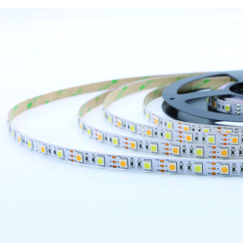 Bande lumineuse 12VDC couleur 5050SMD CCT blanche