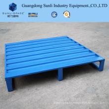 Paleta de acero inoxidable de malla de alambre resistente de 2 t