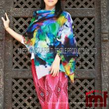 Весна лето 2015 Леди Элита Мода Пашмины Шаль Производители Кашмир Шерстяная шаль
