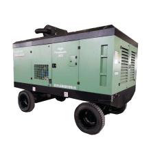 6-7diesel driven Portable Screw Air Compressor general industrial equipment